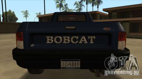 Bobcat HD from GTA 3 для GTA San Andreas вид справа