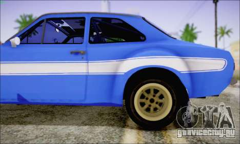 Ford Escort Mk1 RS1600 для GTA San Andreas вид сзади