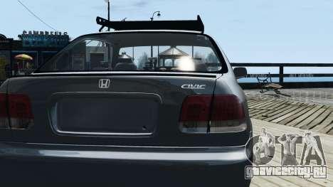 Honda Civic 1.6i ES для GTA 4 вид справа