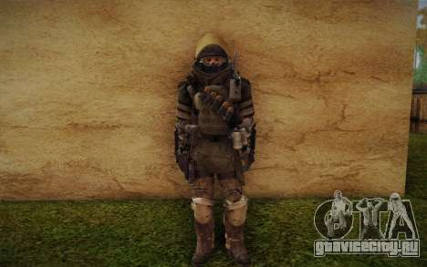 COD MW3 Heavy Commando для GTA San Andreas четвёртый скриншот