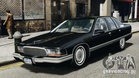 Buick Roadmaster 1996 для GTA 4