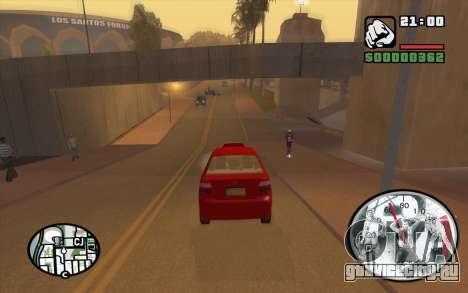 Speedometr da Rockstar для GTA San Andreas четвёртый скриншот