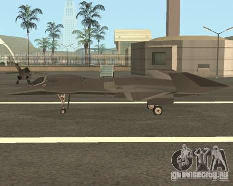 FA-37 Talon для GTA San Andreas вид слева