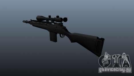 Полуавтоматическая винтовка M14 для GTA 4 второй скриншот