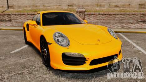 Porsche 911 Turbo 2014 [EPM] для GTA 4