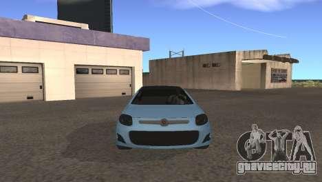 Fiat Palio 2014 для GTA San Andreas вид слева