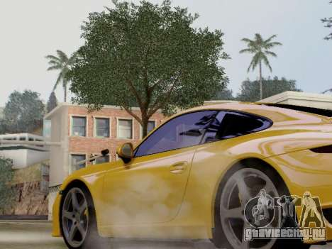 RUF RGT-8 для GTA San Andreas вид сзади слева
