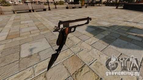 Пистолет Colt 1911 Knife для GTA 4 второй скриншот