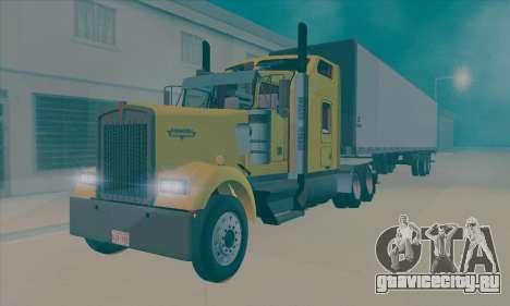 Kenworth W900L для GTA San Andreas