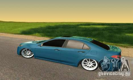 Honda Accord Tuning для GTA San Andreas вид сзади