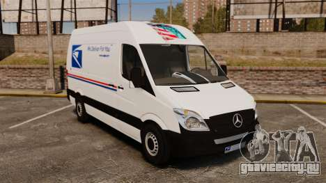 Mercedes-Benz Sprinter US Mail для GTA 4