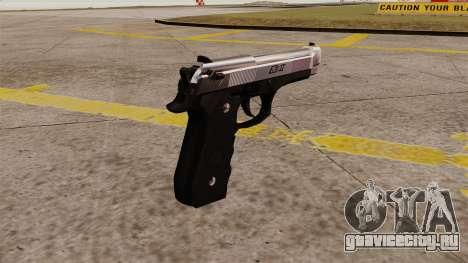 Самозарядный пистолет Beretta M92 для GTA 4 второй скриншот