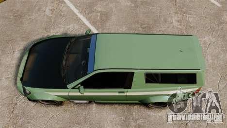 Sultan RS CT для GTA 4 вид справа