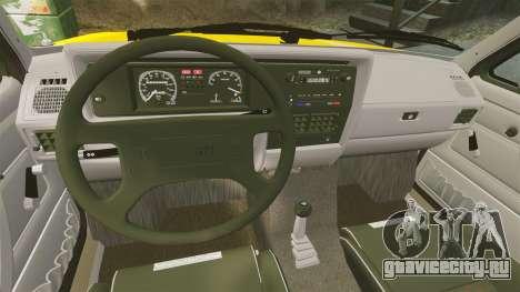 Volkswagen Caddy для GTA 4 вид изнутри