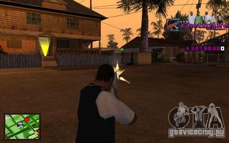 С-HUD Getto Life для GTA San Andreas третий скриншот