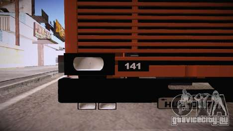 Scania LK 141 6x2 для GTA San Andreas вид сзади слева