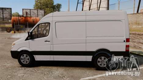 Mercedes-Benz Sprinter 2500 2011 v1.4 для GTA 4 вид слева