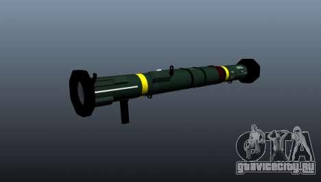 Противотанковый гранатомёт AT4 CS HP для GTA 4