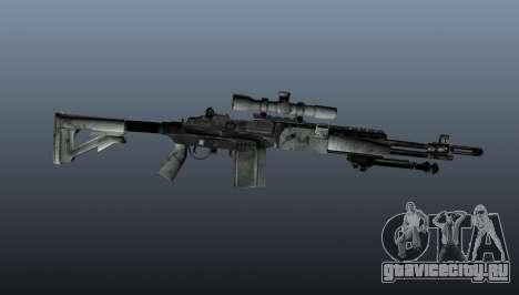 Снайперская винтовка M21 Mk14 v1 для GTA 4 третий скриншот