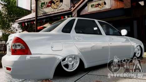 ВАЗ 2170 Lada Priora для GTA 4 вид сзади