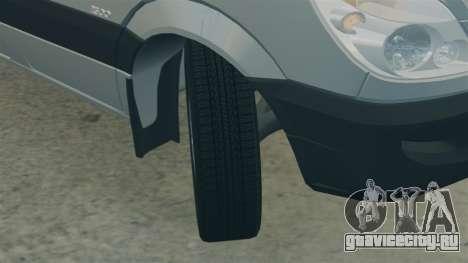 Mercedes-Benz Sprinter 2500 2011 v1.4 для GTA 4 вид сбоку