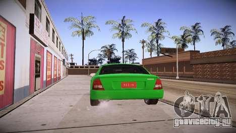 Mazda Protege для GTA San Andreas вид слева