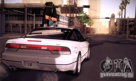 Nissan 240SX 1991 Tunnable для GTA San Andreas вид справа