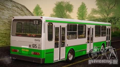 ЛиАЗ 5256.00 Скин-пак 4 для GTA San Andreas вид сбоку