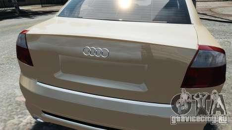 Audi S4 2004 для GTA 4 вид справа