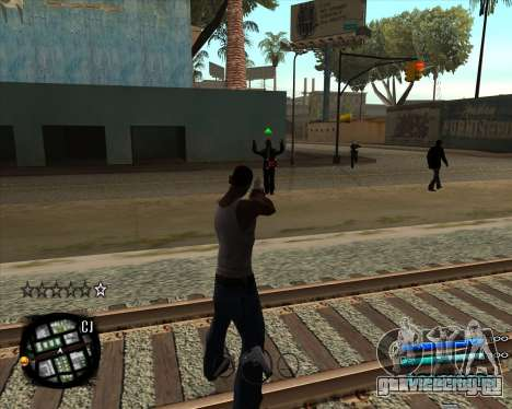 C-HUD by Menson для GTA San Andreas второй скриншот