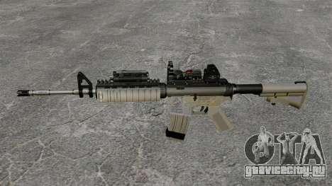 Автомат M4 Red Dop v1 для GTA 4 третий скриншот