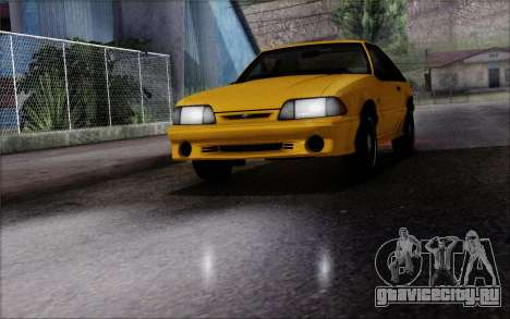 Road Reflections Fix 1.0 для GTA San Andreas второй скриншот