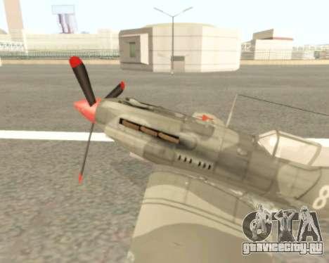 МиГ-3 для GTA San Andreas вид слева