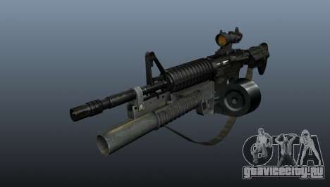 Автомат M4 C-Mag для GTA 4