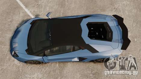 Lamborghini Aventador LP760-4 Oakley Edition v2 для GTA 4 вид справа