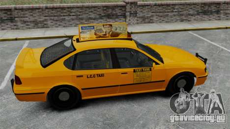 Реальная реклама на такси и автобусах для GTA 4 седьмой скриншот