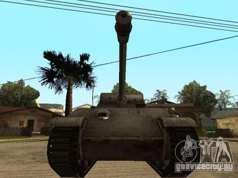 Pzkfpw V Panther для GTA San Andreas вид слева