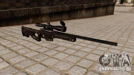 Снайперская винтовка AI Arctic Warfare Magnum для GTA 4