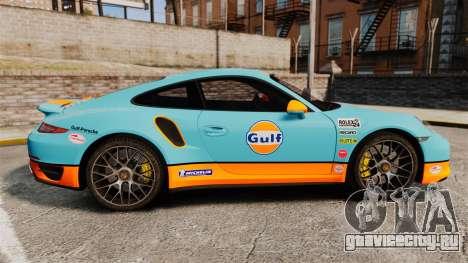 Porsche 911 Turbo 2014 [EPM] Gulf для GTA 4 вид слева