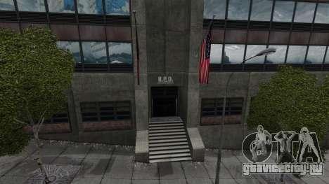 Полицейский участок Raccoon для GTA 4 пятый скриншот
