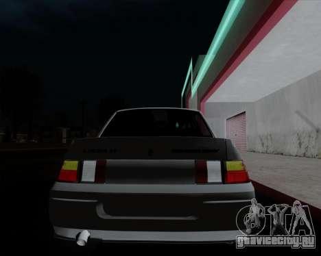 ВАЗ 2110 для GTA San Andreas двигатель