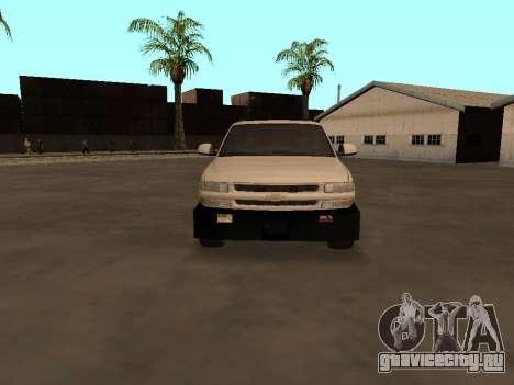 Chevrolet Suburban ATTF для GTA San Andreas вид изнутри