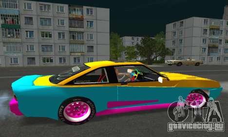 Opel Manta Mattig Extreme для GTA San Andreas вид справа
