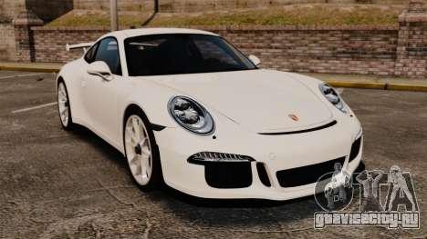 Porsche 911 GT3 (991) 2013 для GTA 4