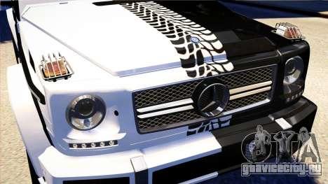 Mercedes-Benz G65 AMG 2013 для GTA 4 вид изнутри