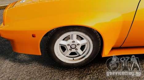 Opel Manta для GTA 4 вид сзади