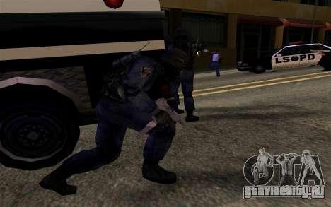 SWAT из Manhunt 2 для GTA San Andreas четвёртый скриншот