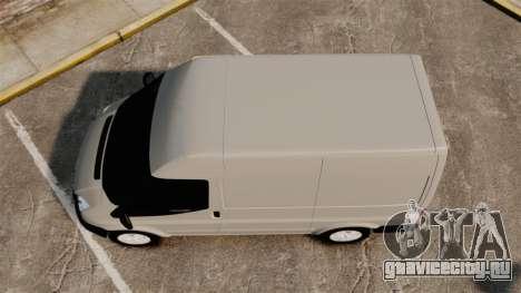 Ford Transit 2013 для GTA 4 вид справа