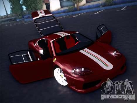 Ferrari 360 Challenge Stradale для GTA San Andreas вид сверху