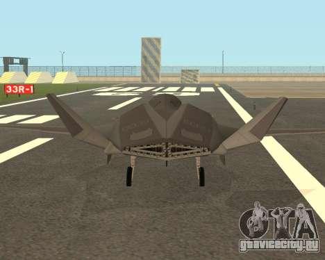 FA-37 Talon для GTA San Andreas вид справа